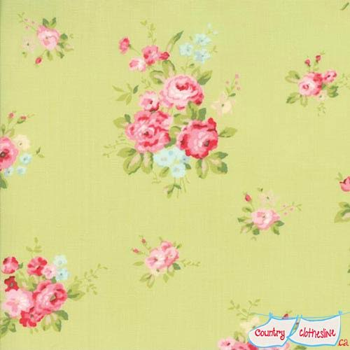 Caroline Willow fabric by Brenda Riddle for Moda