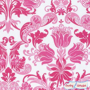 Sunny Isle Dawn in Pink fabric by Jennifer Paganelli for Freespirit