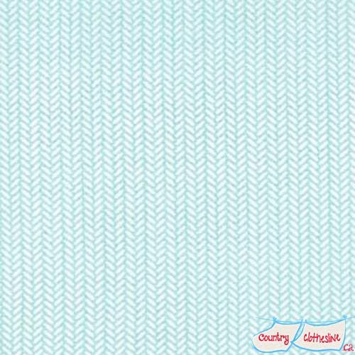 Kate and Birdie Lullaby Aqua quilt fabric by Moda