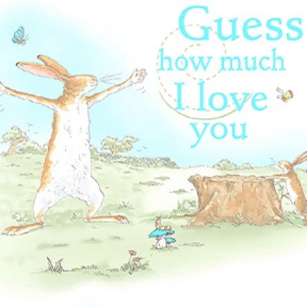 Guess How Much I Love You Book Cover Panel