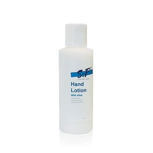 Hand Lotion: With Aloe, Shea Butter, Hyaluoronic Acid