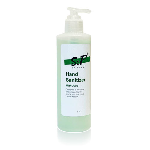 Hand Sanitizer 8oz with Aloe