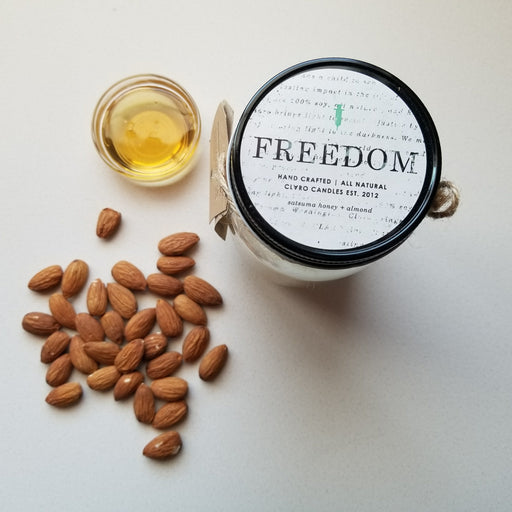 Claro FREEDOM - Satsuma Honey + Almond (large)