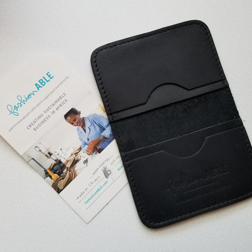 Kalkidan Wallet in Black