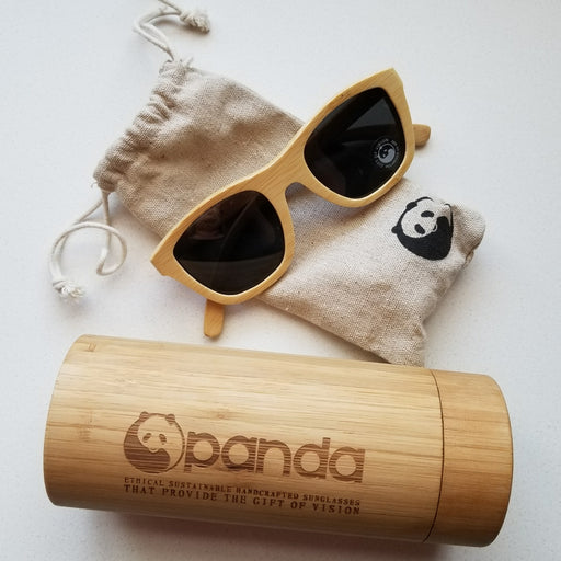 Panda Victoria Sunglasses in Natural