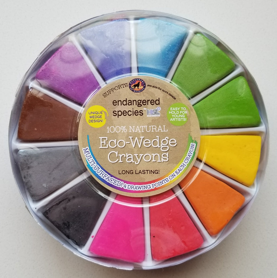 Eco-Wedge Crayons