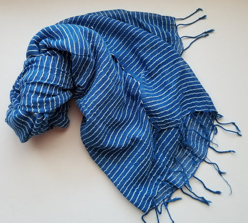 Selam Scarf in Sapphire
