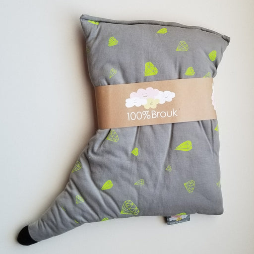 Brouk Organic Hedgehog Toddler Pillow