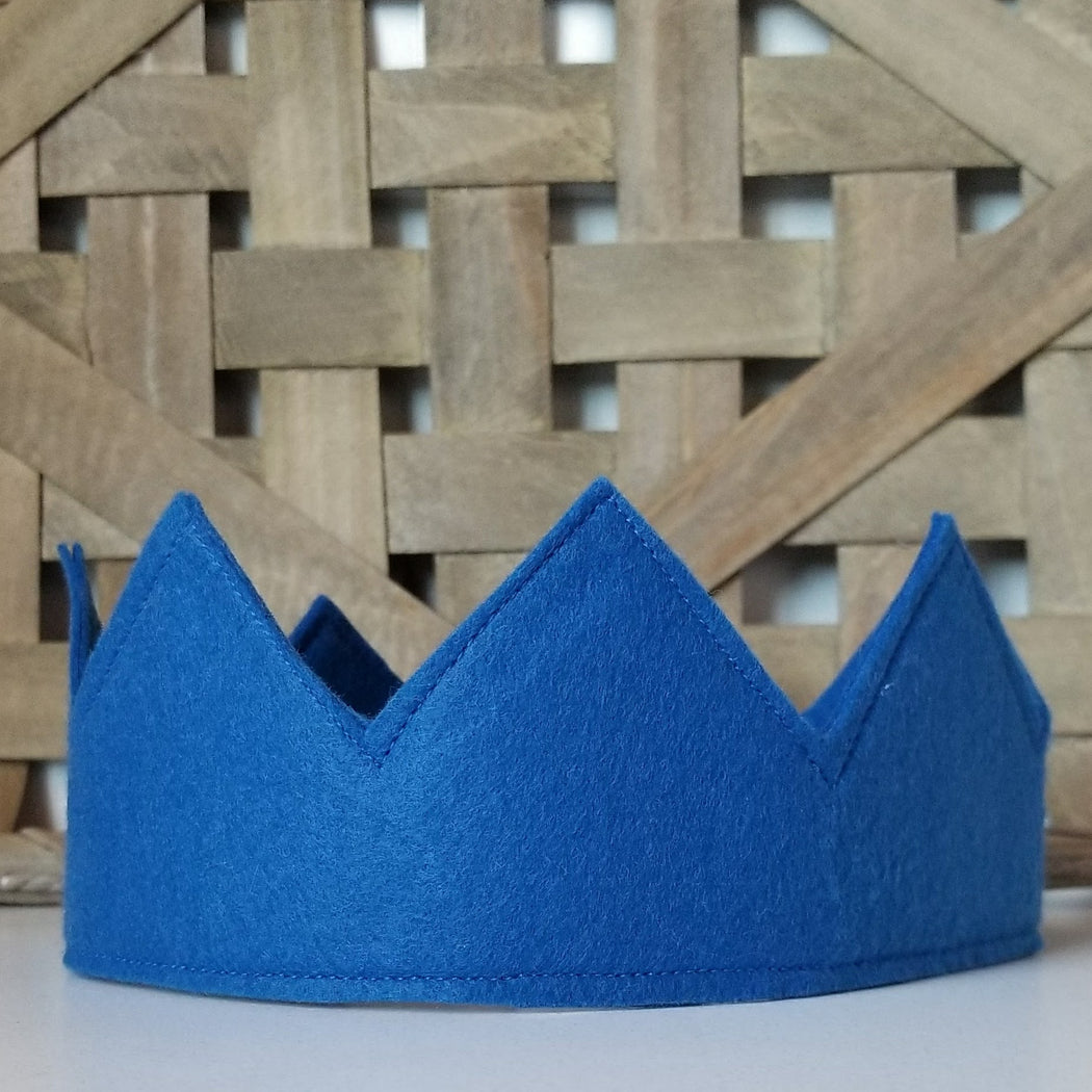 Kids Crown for a Prince or Princess in Blue