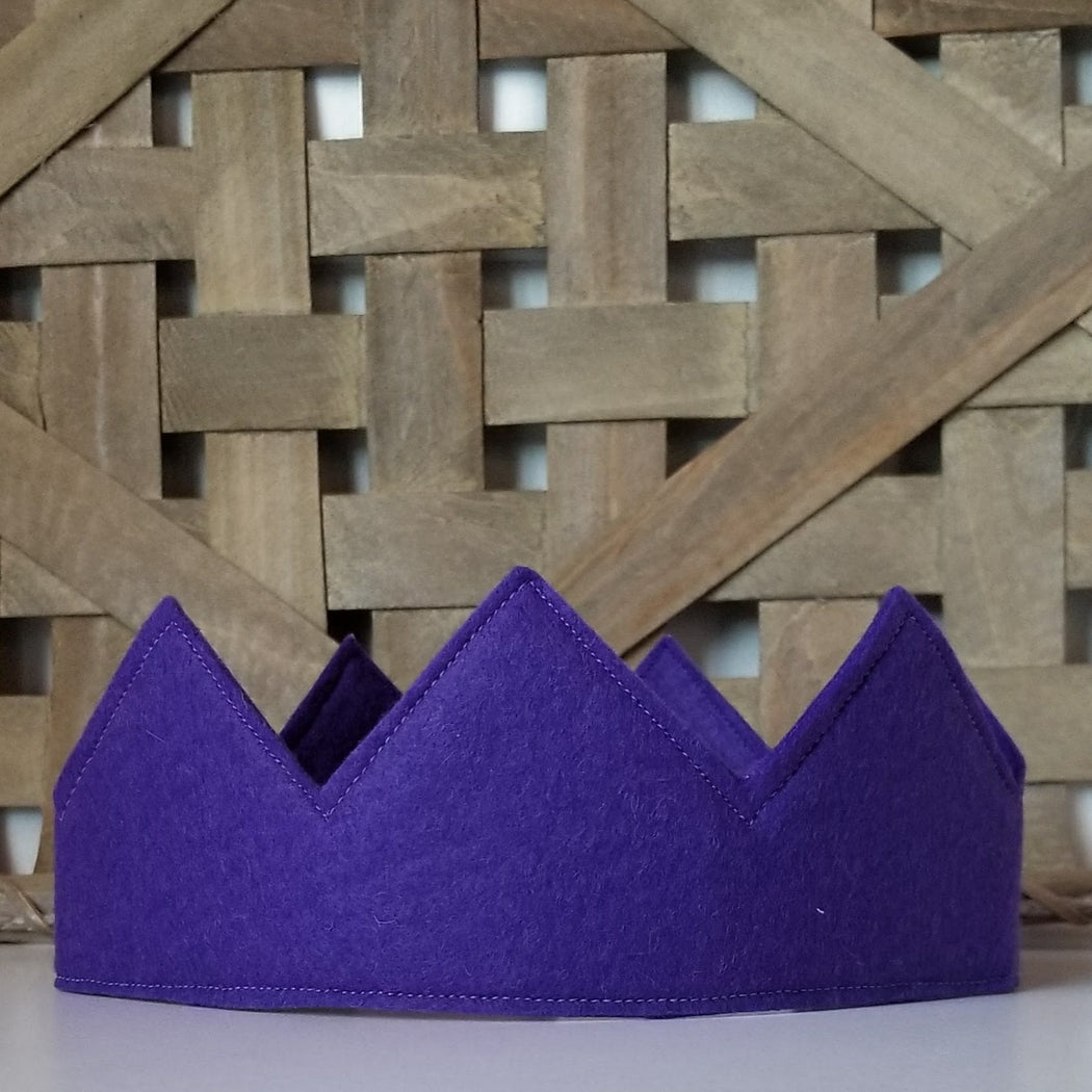Kids Crown for a King or Queen in Purple