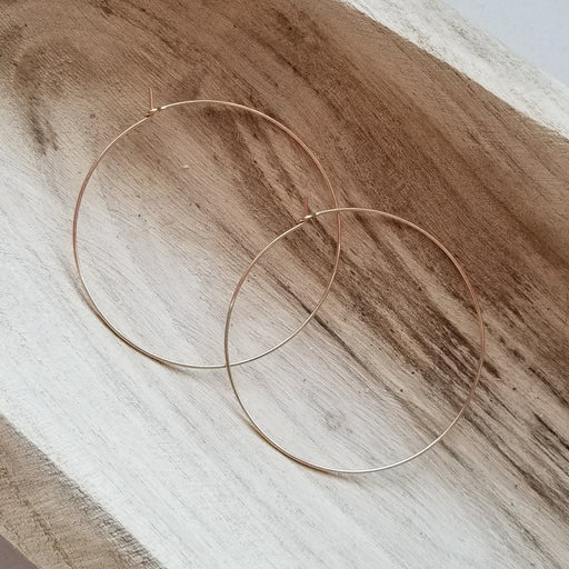 Pure Hoops in Gold (extra large)
