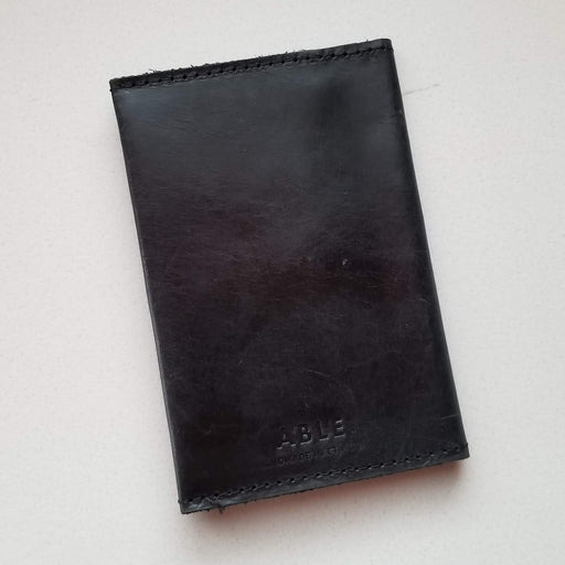 Eyerusalem Passport Wallet in Black