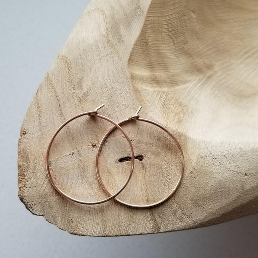 Pure Hoops in Gold (small)