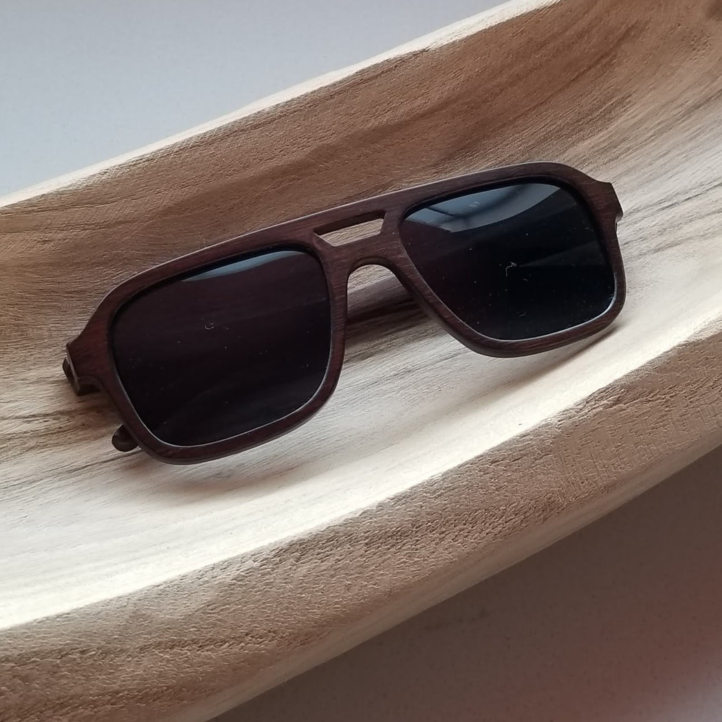Panda Nelson Sunglasses in Brown