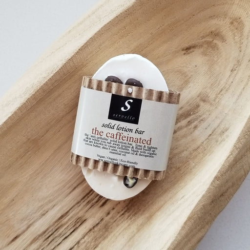Servello Solid Lotion Bar (The Caffeinated)