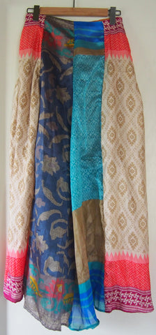 Priya Skirt (Blue Multi)