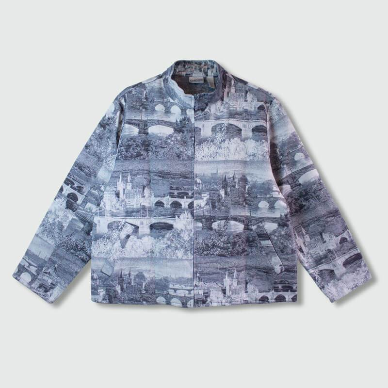 Harrington Textura Print Clásico