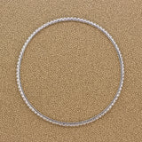 Diamond Gold Eternity Bangle