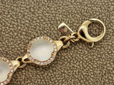 Fine Moonstone Diamond Gold Bracelet