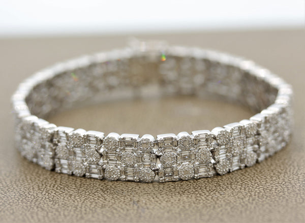 Diamond Gold Shape Bracelet