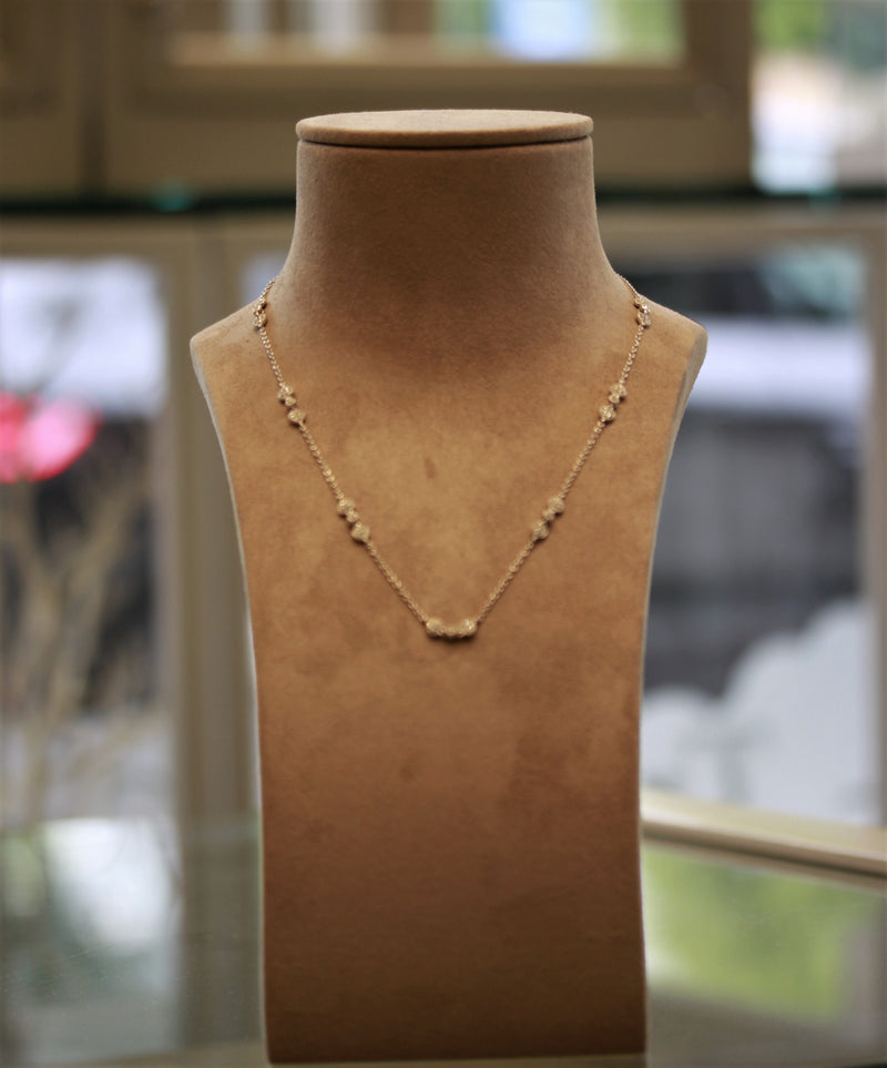 Diamonds by the Yard Gold Heart Necklace