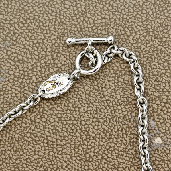 Diamond Platinum Chain Necklace