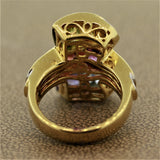 Bellarri Multi-Color Gemstone Diamond Gold Ring