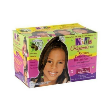 Africa's Best Kids Organics Natural Conditioning Relaxer System With Scalpguard No-Lye Kids Coarse