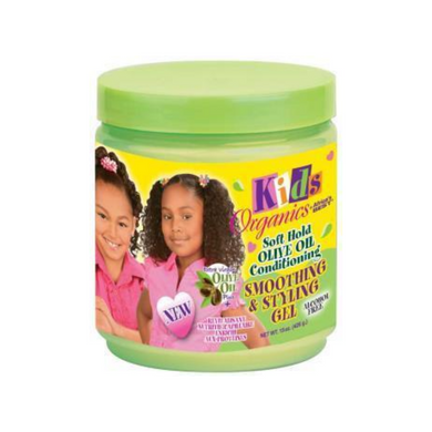 Africa's Best Kids Organics Soft Hold Olive Oil Conditioning Smoothing & Styling Gel 15oz