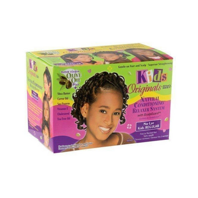 Africa's Best Kids Originals Natural Conditioning Relaxer System With Scalpguard Regular Kit