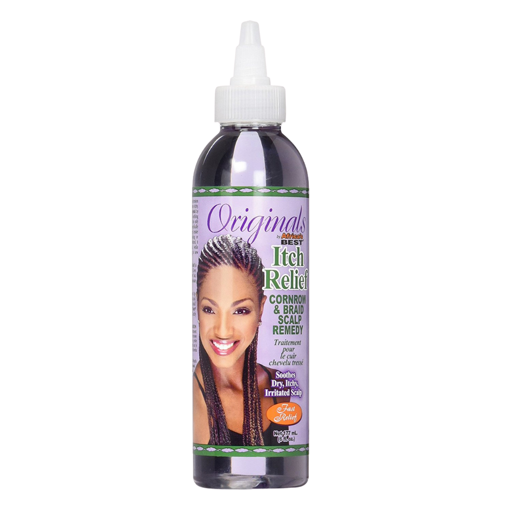 Africa's Best Originals Itch Relief Cornrow & Braid Scalp Remedy 6oz