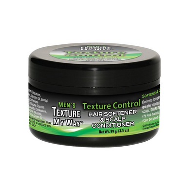 Africa's Best Texture My Way Men's Texture Control Hair softener and scalp conditioner 3.5oz