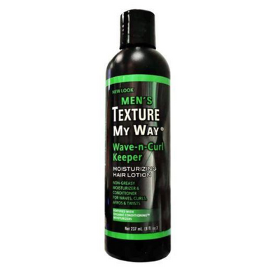 Africa's Best Texture My Way Men's Wave-N-Curl Keeper 8oz