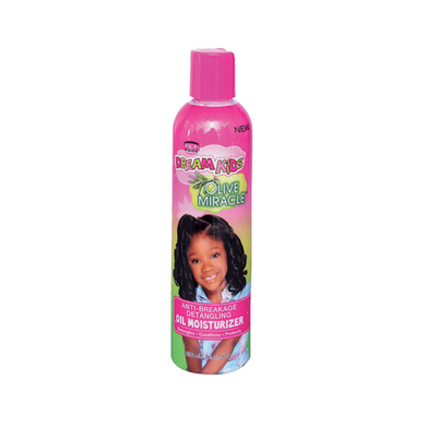African Pride Dream Kids Olive Miracle Anti-Breakage Detangling Oil Moisturizer 8oz
