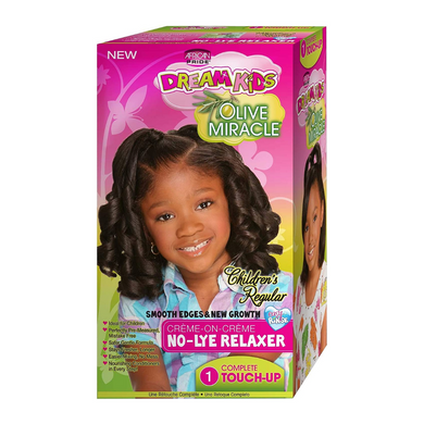 African Pride Dream Kids Olive Miracle Touch-Up Relaxer Regular