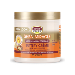 African Pride Shea Miracle Buttery Creme Hair Moisturizer 6oz
