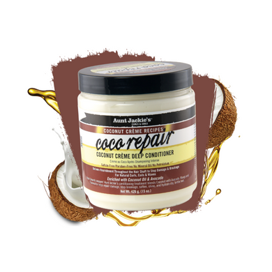 Aunt Jackie's Coconut Creme Recipes Coco Repair Deep Conditioner