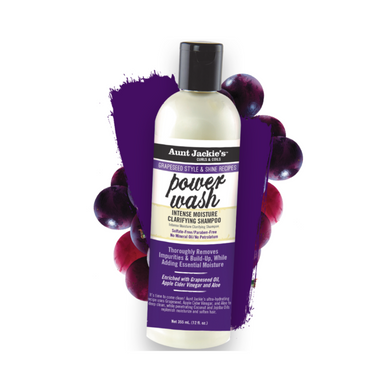 Aunt Jackie's Grapeseed Power Wash Shampoo 12oz