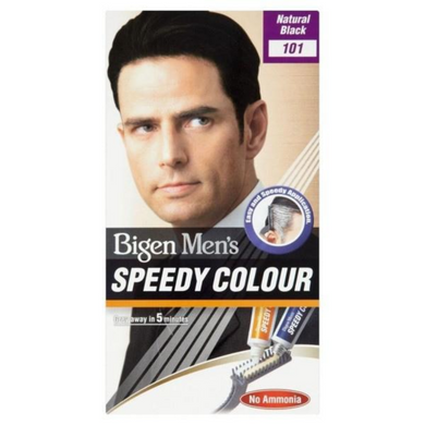 Bigen Men's Speedy Colour Natural Black 101