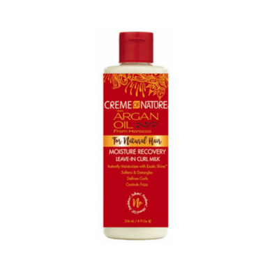 Creme Of Nature Argan Oil Leave In Hair Butter Milk 8oz