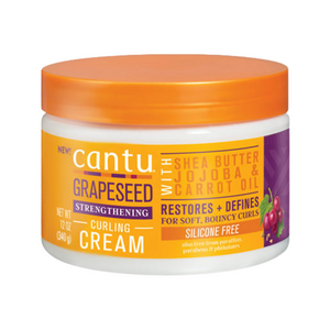 Cantu Grapeseed Strengthening Curling Cream 12oz