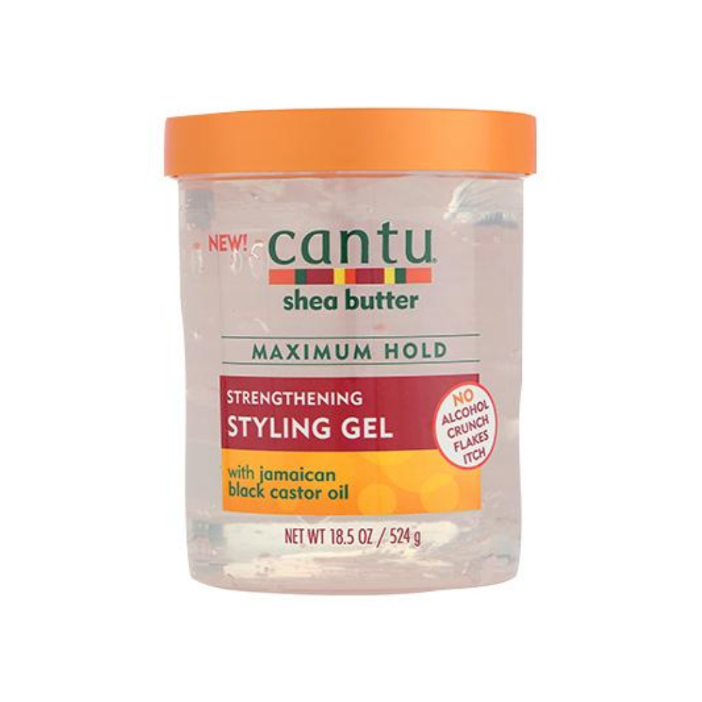 Cantu Strengthening Styling Gel with Jamaican Black castor Oil 18.25oz