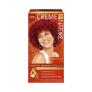 Creme Of Nature Exotic Shine Colour Intensive Red 7.6