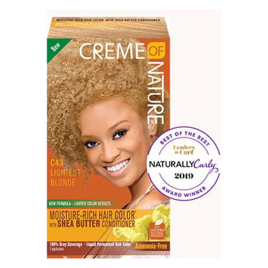 Creme of Nature Moisture-Rich Hair Colour Lightest Blonde C43