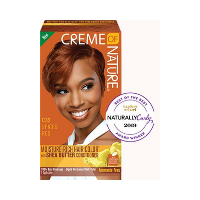 Creme of Nature Moisture-Rich Hair Colour Spiced Red C32