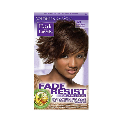 Dark & Lovely 373 Hair Colour Brown Sable Kit