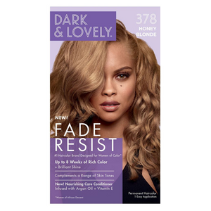 Dark & Lovely 378 Fade Resist Honey Blonde Conditioning Color