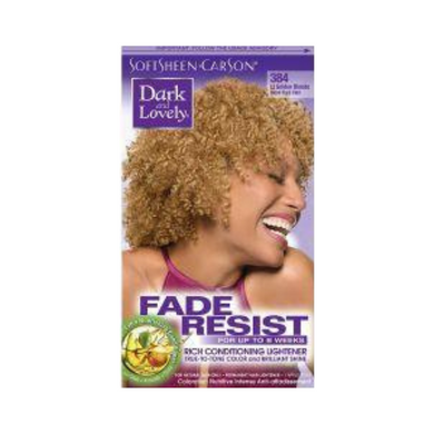 Dark & Lovely 384 Hair Colour It Gold Blonde Kit