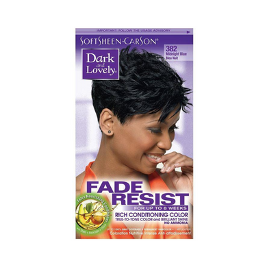 Dark & Lovely Fade Resist 382 Midnight Blue Rich Conditioning Color
