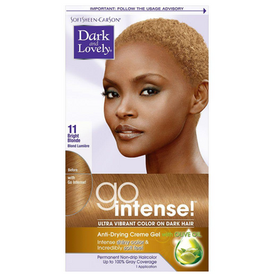 Dark and Lovely 11 Go Intense Bright Blonde Ultra Vibrant Color